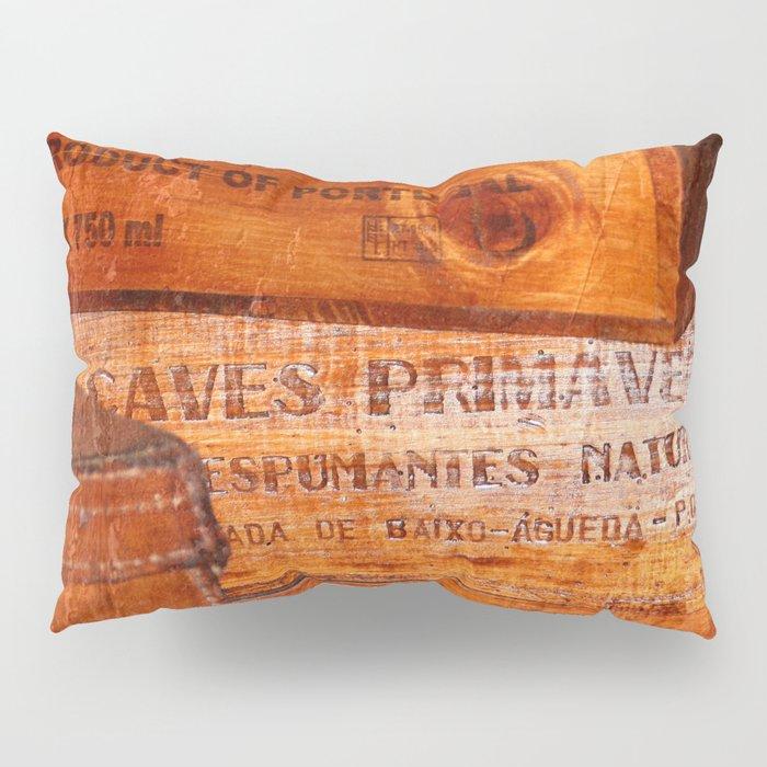 Wine crates Pillow Sham