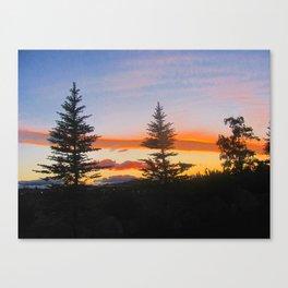 Oregon Sky. Canvas Print