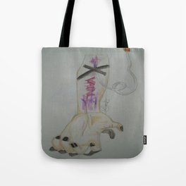 You Do This All In Vain. Tote Bag