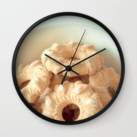 cookies Wall Clocks featuring Cookies! by Basic Design
