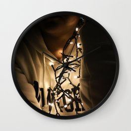lightschristmas Wall Clock
