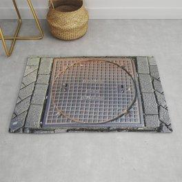 manhole Amsterdam Rug