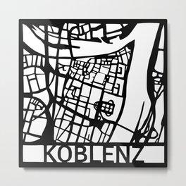 Koblenz Metal Print