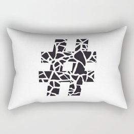 Hashtag Rectangular Pillow