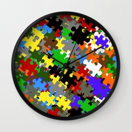 Puzzle Stones Wall Clock
