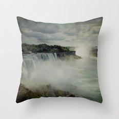 Niagara Falls New York  Throw Pillow