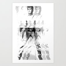 FPJ gray mix Art Print