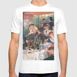 Luncheon of the Boating Party, 1880-1881 by Pierre-Auguste Renoir T-shirt