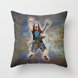Dimebag (Vector Art) Throw Pillow