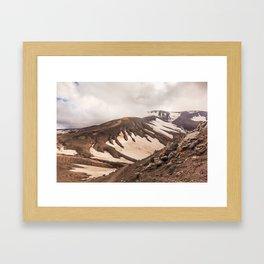 Volcanic Graphics Framed Art Print