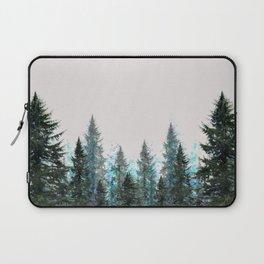 MOUNTAIN FOREST PINES LANDSCAPE  ART Laptop Sleeve