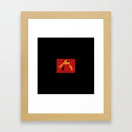 Pocket Cat Framed Art Print