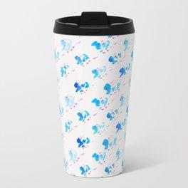 Day 001: Margot's Daily Pattern Metal Travel Mug