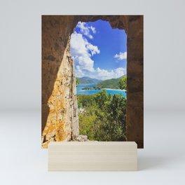 Peace Hill Virgin Islands View Mini Art Print