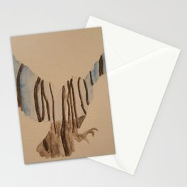 Fly at night Stationery Cards