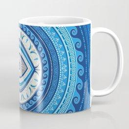 Greek Mati Mataki - Greek Evil Eye ornament Coffee Mug