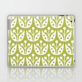 Mid Century Flower Pattern 5 Laptop & iPad Skin