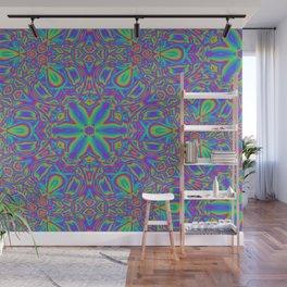 Rainbow Kaleidoscope Wall Mural