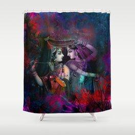 Radha Krishna- the divine Shower Curtain