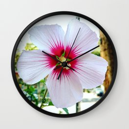 August Hibiscus, 2019 from Roberta Winters Photography Wall Clock