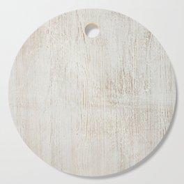 White vintage wood Cutting Board