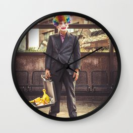 """Clone Suit"" Wall Clock"