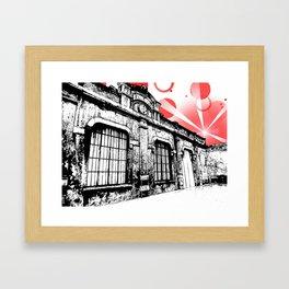 Milangeles Framed Art Print