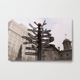 Where is your next destination? Metal Print