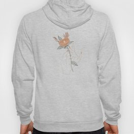 Hand Floral Hoody