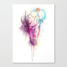 Dark Crystal Canvas Print