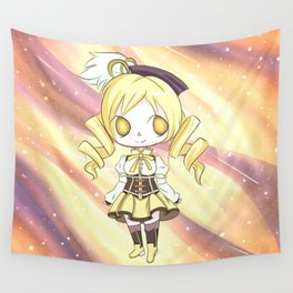 Mami Tomoe Galaxy Wall Tapestry