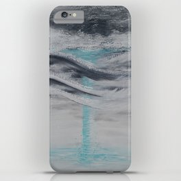 """""""Wind And Water"""" Painting1of 2 - Elements Series iPhone Case"""
