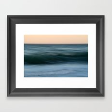 Dialogue with the Sea Framed Art Print