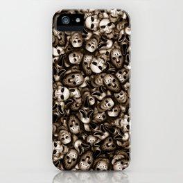 Villains masks iPhone Case