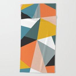 Modern Geometric 36 Beach Towel