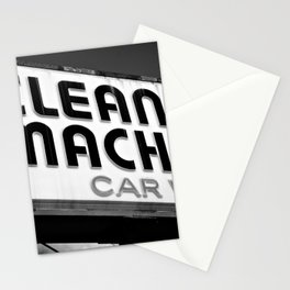 The Clean Machine Stationery Cards