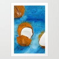 coco Art Prints featuring Coco by Cro_Ki