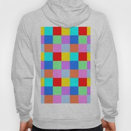 Patchwork of many Colors Hoody
