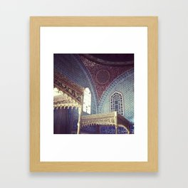 Harem at Topkapi Palace Framed Art Print
