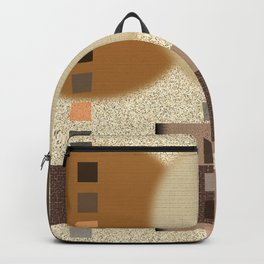 Neutral Abstract Backpack