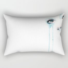 Cold Stare Rectangular Pillow