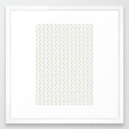 triangles^ Framed Art Print