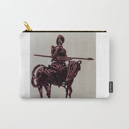 Don Quixote by Shimon Drory Carry-All Pouch