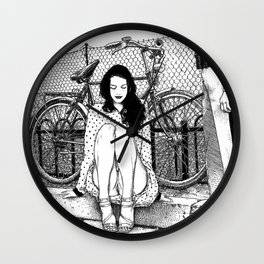 asc 592 - L'amende honorable (A satisfactory apology) Wall Clock