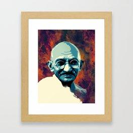 Mahatma Gandhi  Framed Art Print