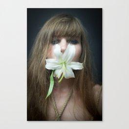 flower #2. nettie harris, 2015. Canvas Print