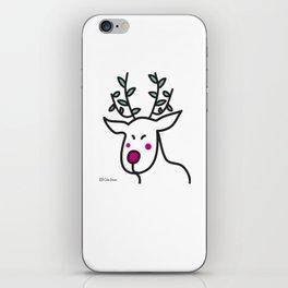 Geisha Reindeer iPhone Skin