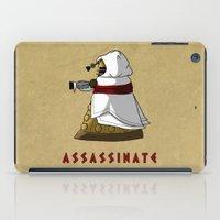 dalek iPad Cases featuring Assassin's Dalek by mikaelak