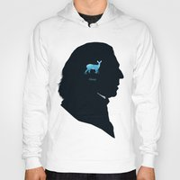 snape Hoodies featuring Always by Duke Dastardly