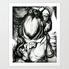 Nyctophobia Art Print